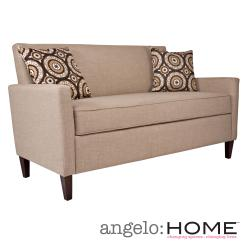 angelo:HOME Sutton Sandstone Khaki Brown Twill Sofa
