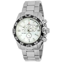Swiss Precimax Men's Formula 7 Pro Stainless Steel Watch