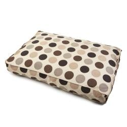 Sweet Dreams Indoor/ Outdoor Big Dot Sunbrella Fabric Pet Bed