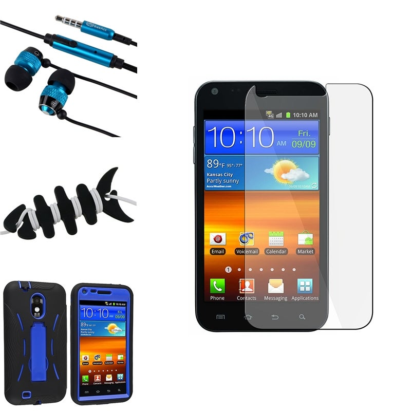 BasAcc Case/ LCD Protector/ Headset for Samsung Epic 4G Touch D710