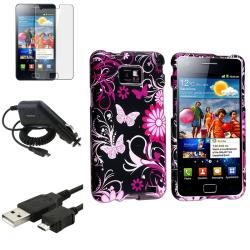 Case/ Screen Protector/ Charger/ Cable for Samsung Galaxy S II i9100