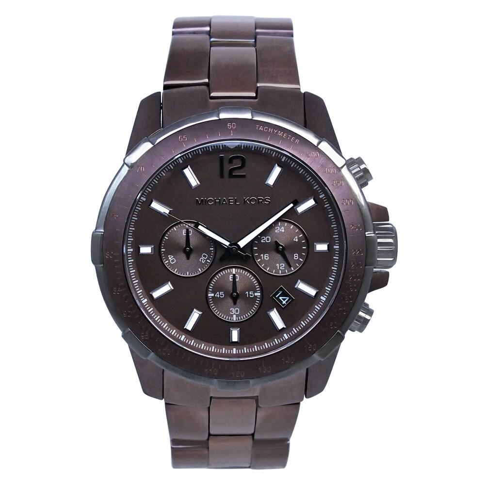 Michael Kors Men's Espresso Watch