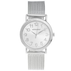 Monument Women's Mesh Strap Analog Watch