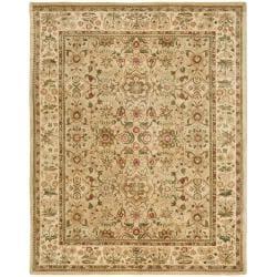 Safavieh Handmade Persian Legend Ivory Wool Rug (7'6 x 9'6)