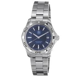 Tag Heuer Men's '2000 Aquaracer' Blue Dial Stainless Steel Watch