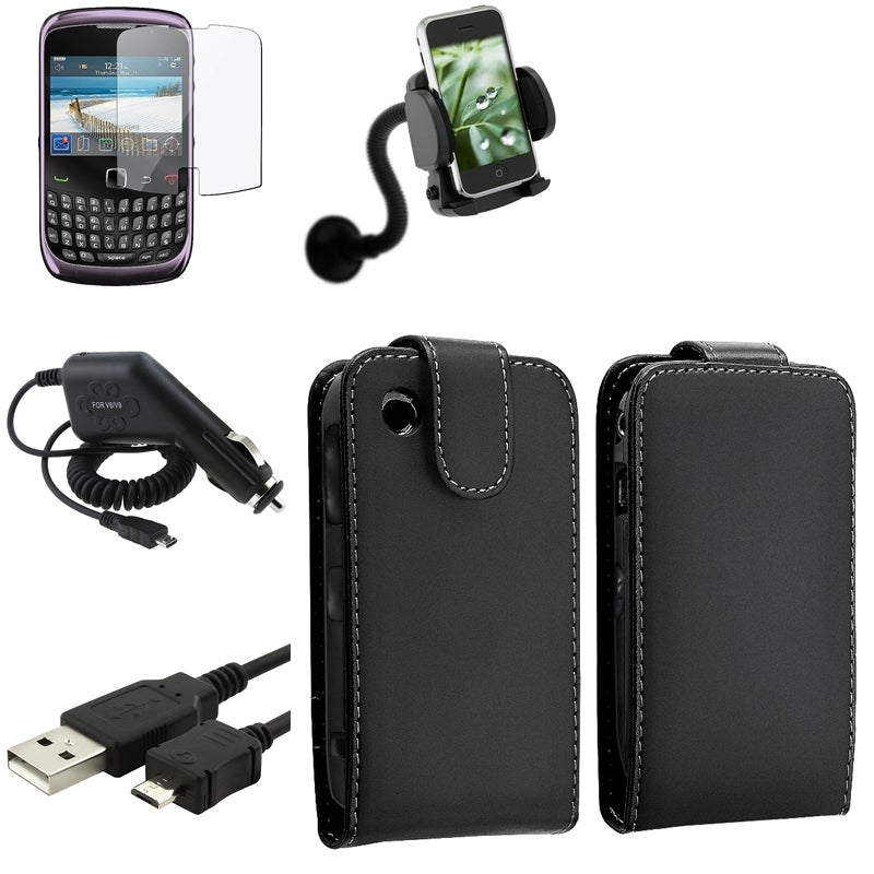 Case/ Screen Protector/ Charger/ Mount for BlackBerry Curve 9300