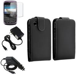 Case/ Screen Protector/ Travel/ Car Charger for BlackBerry Curve 9300