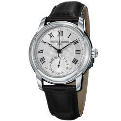 Frederique Constant Men's 'Maxime' Silver Dial Automatic Watch