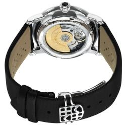Frederique Constant Women's 'LadiesAutomt' Black Strap Automatic Watch