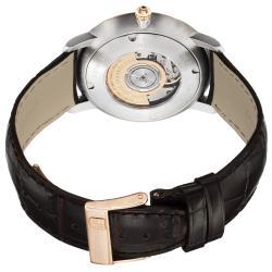 Frederique Constant Men's 'Slim Line' Silver Dial Two Tone Watch