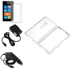 Crystal Case/ Protector/ Car Charger/ Travel Charger Nokia Lumia 900