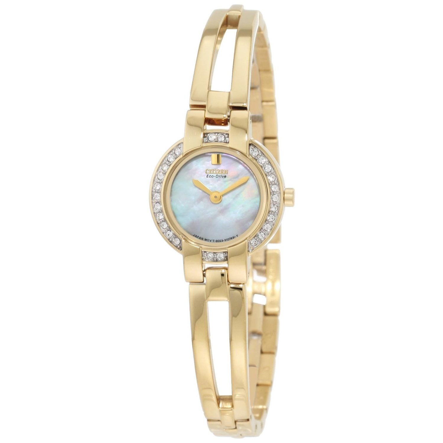 Citizen Women's Eco-Drive Goldtone Bangle Watch