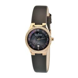 Skagen Women's Stainless Steel Brown Dial Watch