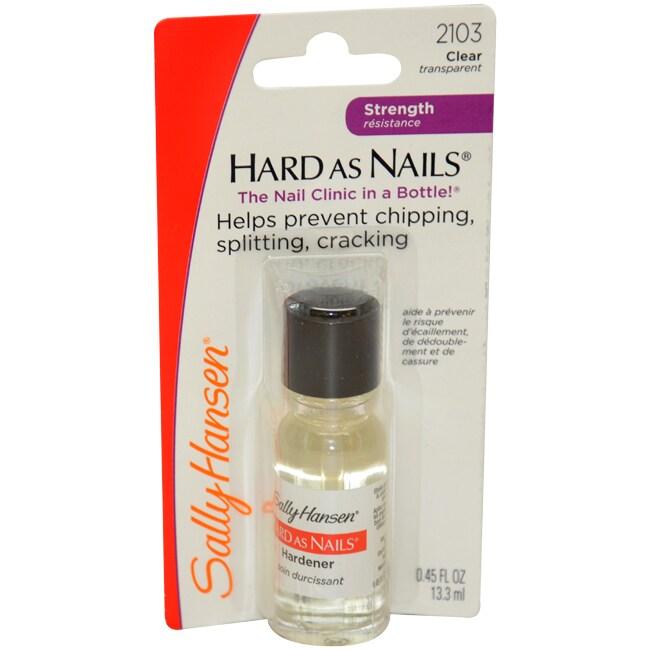 Sally Hansen Hard as Nails Clear Nail Hardener