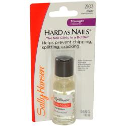 Sally Hansen Hard as Nails Clear Nail Hardener