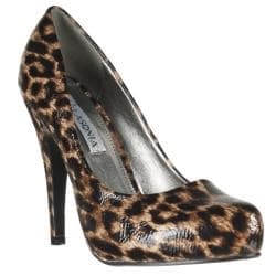 Riverberry Women's Cheetah Pumps