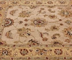 nuLOOM Handspun Decorative Persian Natural New Zealand Wool Rug (8' x 10')