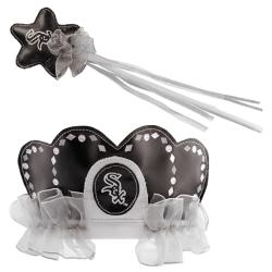 Chicago White Sox Princess Tiara Wand Set