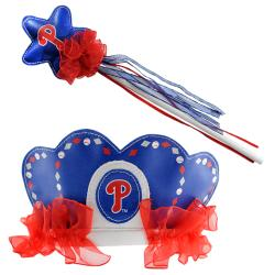 Philadelphia Phillies Princess Tiara Wand Set