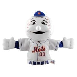 New York Mets 'Mr. Mets' Mascot Hand Puppet