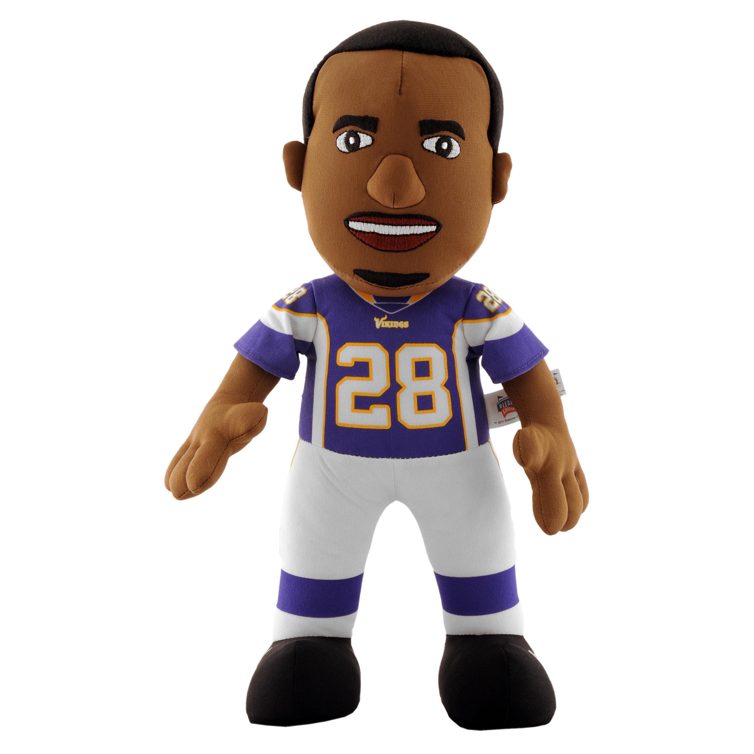 Minnesota Vikings Adrian Peterson 14-inch Plush Doll