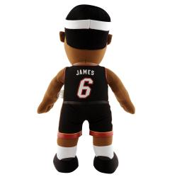NBA-licensed Miami Heat Lebron James 14-inch Plush Polyester Doll