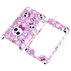 Skull Case/ Diamond LCD Protector for Apple iPod Touch Generation 4