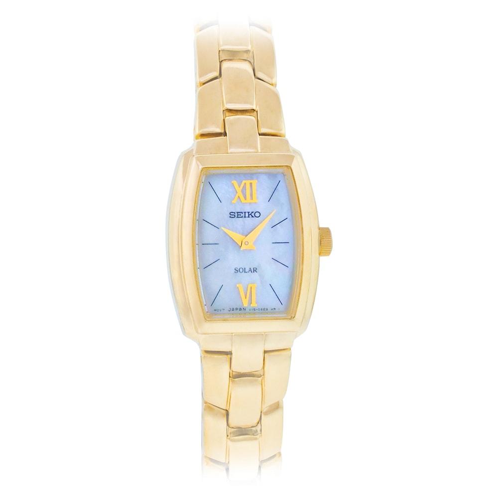 Seiko Women's Goldtone Solar Watch