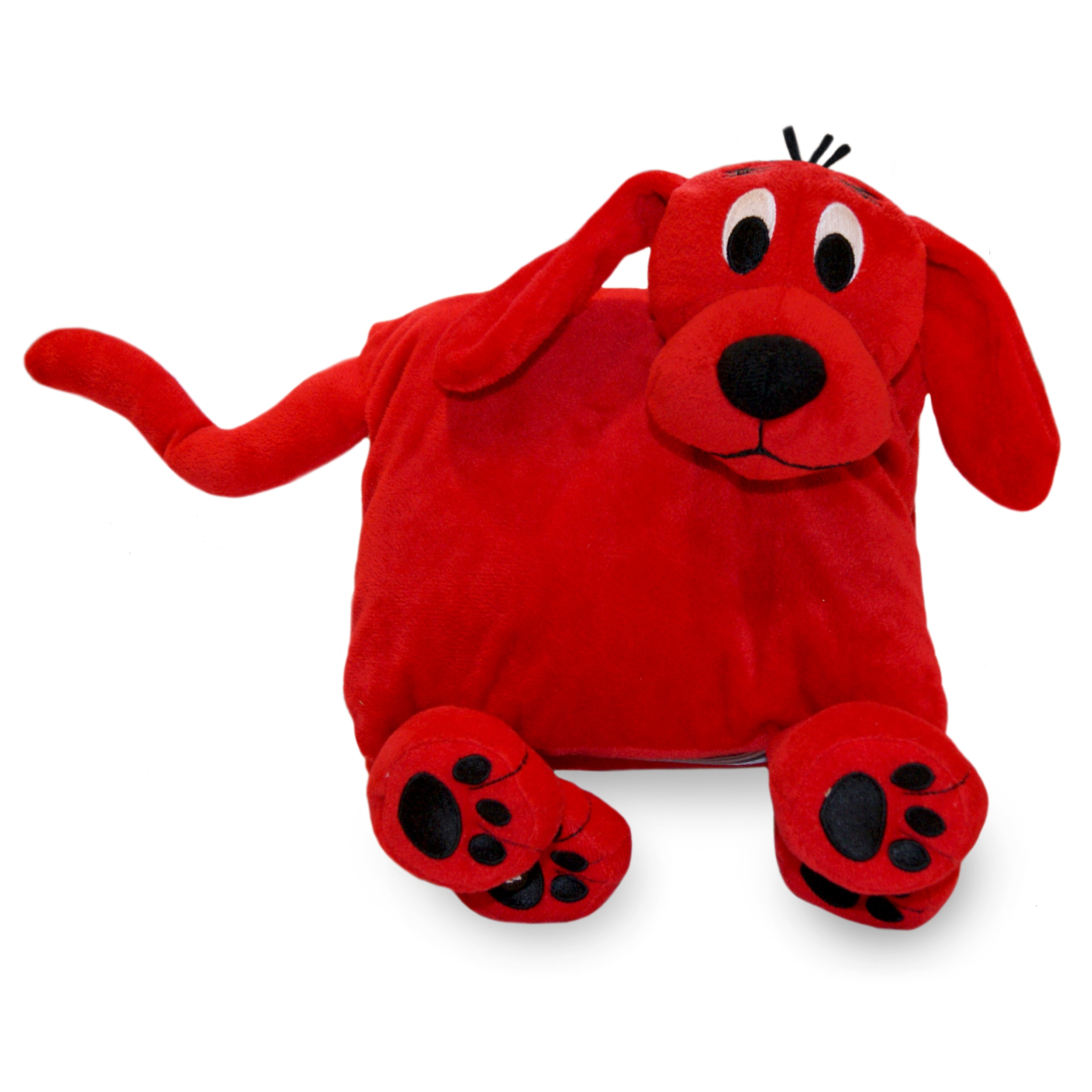 Zoobies 'Clifford the Big Red Dog' Book Buddy