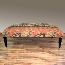 nuLOOM Hand-upholstered Traditional Multi Wood Bench
