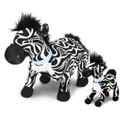 Zoobies 'Zulu the Zebra' Plus Mini Plush Blanket Pet