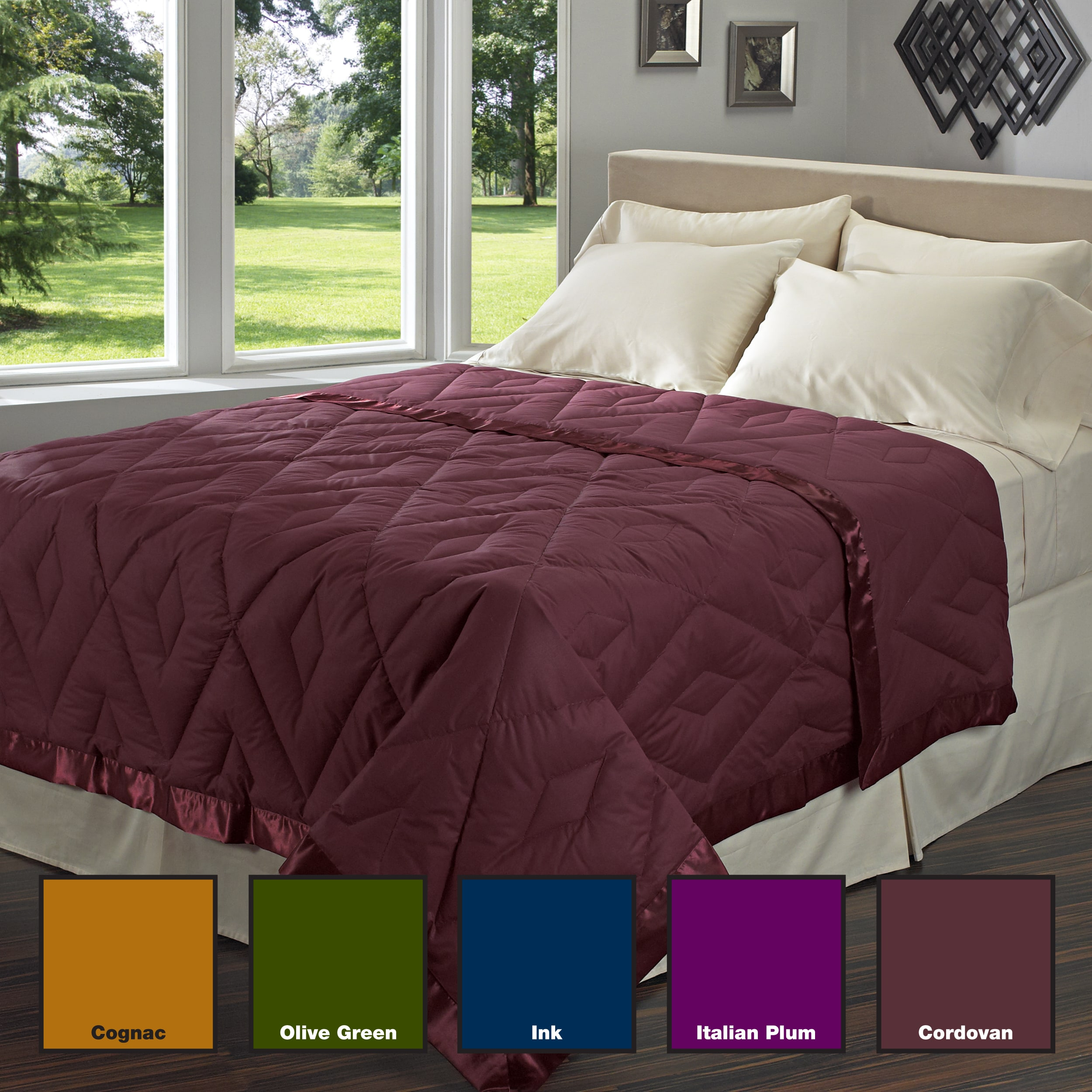 Overstock.com Imperial Diamond 300 Thread Count Natural Down Blanket at Sears.com
