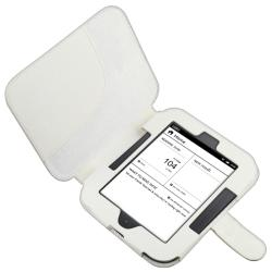 White Case/ Screen Protector/ Charger for Barnes & Noble Nook 2