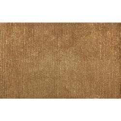 Hand-woven Dotted Motion Gold Wool Rug (8' x 11')