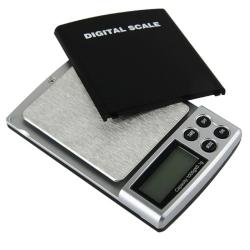 BasAcc Black 2-pound Capacity Digital Pocket Scale