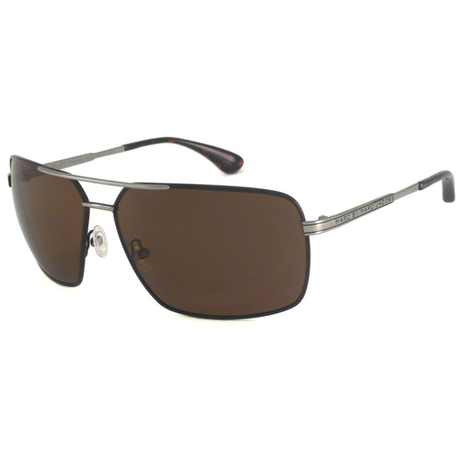 Marc By Marc Jacobs Men's MMJ214 P Polarized Aviator Sunglasses