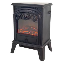 Northwest Sagamore Freestanding Log Flame Fireplace