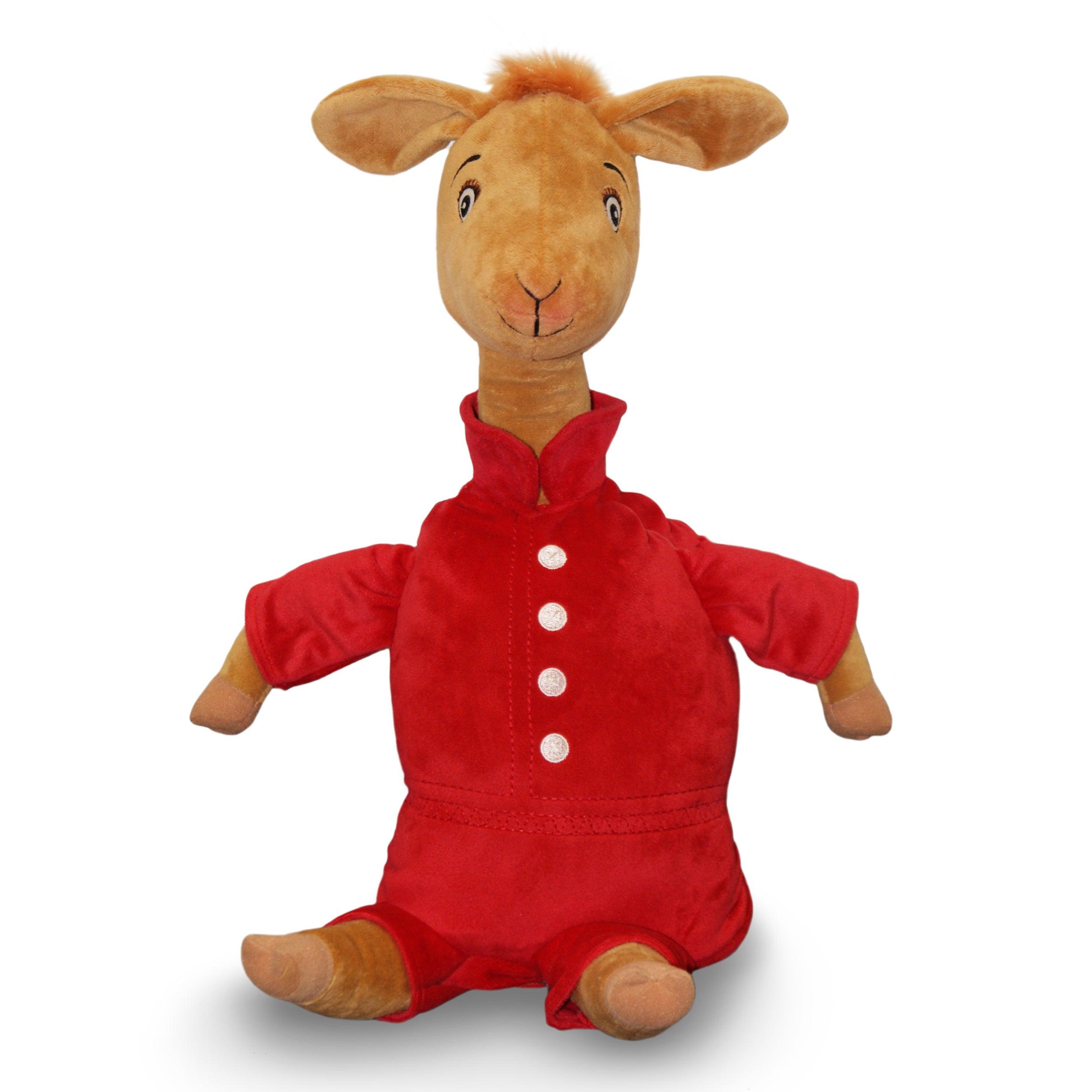 Zoobies 'Llama in Red Pajamas' Storytime Pal Adorable Plush Toy