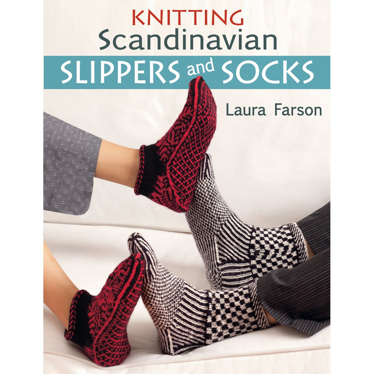 Martingale & Company-Knitting Scandinavian Slippers & Socks