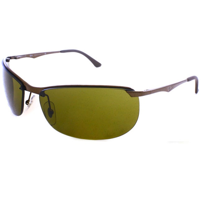 Ray-Ban Men's 'RB 3390 014/73' Bronze Metal Sport Sunglasses