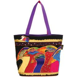 "Scoop Tote Zipper Top 20""X7""X15""-Sky Spirits"