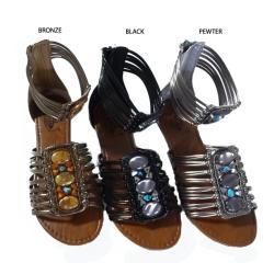 I-Comfort Women's Bohemian Gladiator Sandals