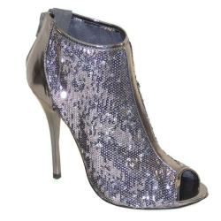 I-Comfort Women's Sparkle Ankle Booties