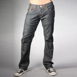 Laguna Beach Jean Co. Men's Phantom Pocket Raw Blue Slim Fit Jeans