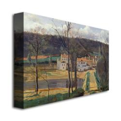 Jean Baptiste Corot 'Ville d'Avray1820' Gallery-Wrapped Canvas Art