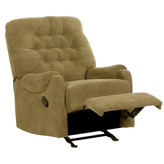 Barclay Moss Fabric Recliner/Rocker Chair