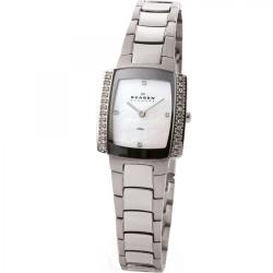 Skagen Women's  Element Rectangle Dial Steel Watch