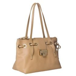 Jimmy Choo '247 RHEA/S GRC' Grainy Leather Shoulder Bag
