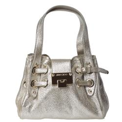 Jimmy Choo '247 ROQUETT GLE' Metallic Shoulder Bag