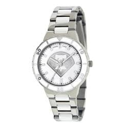 Game Time Women's Philadelphia Phillies Logo Pearl Watch